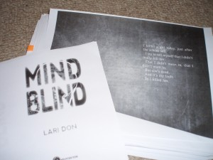 the first page of Mind Blind